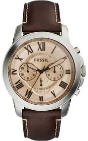fossil grant for men casual leather band watch fs5152 price fossil grant for men casual leather band watch fs5152