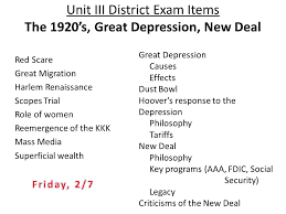 Issues Of The 1920s Cause Effect Chart The Great Depression And The New Deal Essay