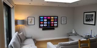 Home Tv System Design A Lovely Room Design We Added A New Sky Distribution System