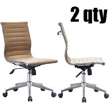 eames ribbed chair tan office. Eames Ribbed Chair Tan Office. 2xhome - Set Of 2 Office Modern