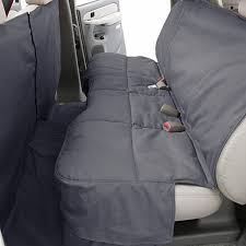 canine covers polycotton custom rear gray seat protector
