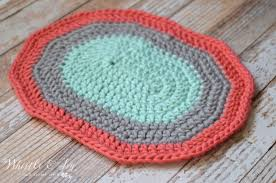 Free Crochet Rug Patterns Gorgeous Free Crochet Rug Patterns Super Chunky Oval Rug Pretty Providence