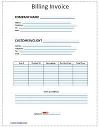 Word Billing Template Free Billing Invoice Template Microsoft Word Dramis Info