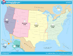 oc proposed simplified time zone map of the united states in
