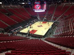 Viejas Casino Seating Chart Viejas Arena Section B Rateyourseats Com