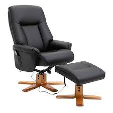 homcom pu leather 10 point massage sofa