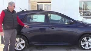 Tom Shows Laurie and Andrew 2013 Toyota Matrix S AWD - YouTube