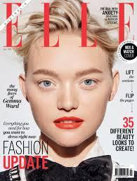 gemma ward on elle australia july 2016 cover