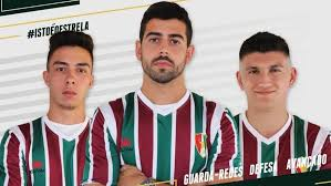 Tricolores (the tricolors) estrela (yıldız). Estrela Da Amadora Diogo Santos Filipe Gaspar E Joao Costa Oficializados Campeonato De Portugal Jornal Record