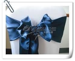 free navy blue satin chair sash chair sash chair tie back