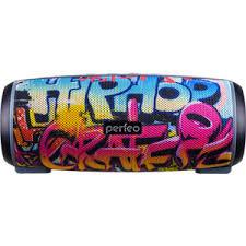 Bluetooth-колонка Perfeo HIP HOP FM граффити   www.gt-a.ru
