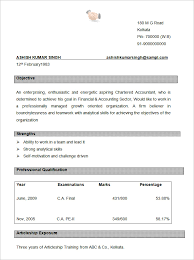 Resume Text Format Cool Types Of Sample Resume Formats Download