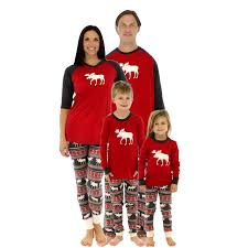 undefined BF Family Christmas Pajamas New Year Mother Dad Kids Outfits
