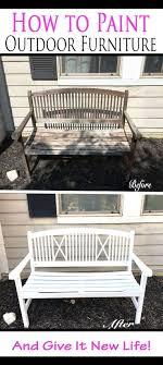 best paint for outdoor furnitureBest 25 Indoor outdoor furniture ideas on Pinterest  Indoor