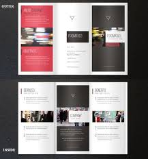 Printable Tri Fold Brochure Template Custom Template For Tri Fold Brochure Bino48terrainsco