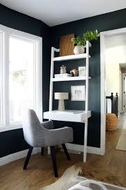 corner furniture for living room. Black Wall Living Room With Home Office Nook In Corner Of The Furniture For
