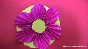 Flower Made In Paper How To Make Paper Flowers Sharing Our Experiences