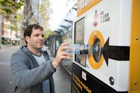 Sydney Vending Machines Delectable Vending Machines Provide Cando Recycling In Sydney People's Daily