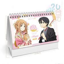 Sort alphabetically / sort by date. Sammeln Seltenes Neu 2019 Sword Art Online Kalender Calendar Anime Manga 13 Seiten 21x14cm Manga Anime Sammeln Seltenes