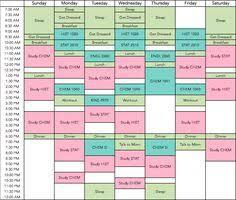 Make Schedule College Hashtag Bg