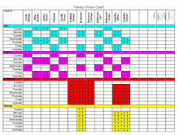 Image Result For Printable Chore Charts For Multiple