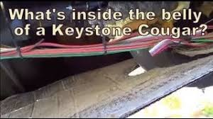 inside the belly keystone cougar 276rlswe fifth wheel loveyourrv