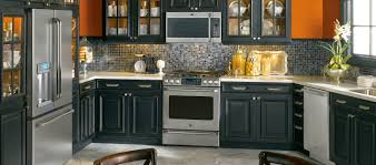 Black Kitchen Appliances Awesome Fireplace Decor Ideas With Black ...