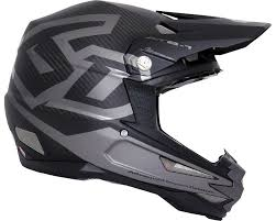 6d Helmets Atb 1 Dh Bmx Carbon Macro Full Face Helmet Black Xs