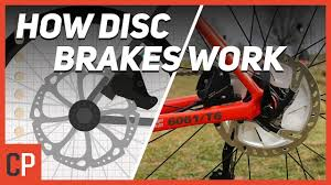 How Do <b>Disc Brakes</b> Actually Work? - YouTube