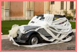 best wedding car decorations