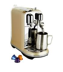 Homewares: Coffee Machines Nespresso Creatista Coffee Machine ...