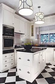 black and white tile floor kitchen. Checkered Floor Black And White Tile Kitchen N
