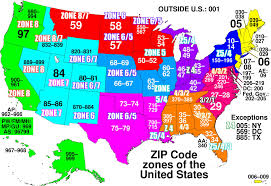 Usps Zone Chart For Shipping Usps Determines Prices Based On Distance Between From And To