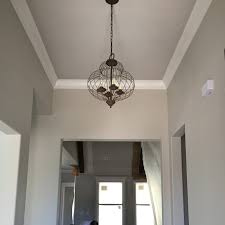 entry foyer cage light