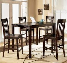 Bar Height Kitchen Table Set Ashley Furniture Hyland 5 Piece Rectangular Counter Height Table