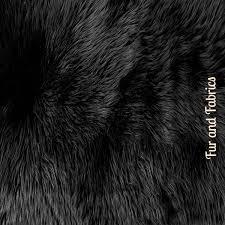 fur accents black faux mule deer skin area rug