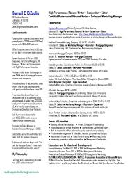 Perfect Professional Resumes Perfect Professional Sales Resume Template Vcuregistry Org