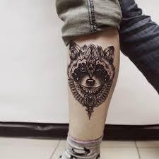 значение тату енот татуировки енота у девушек и мужчин тату на