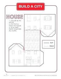 3d House Template Printable Marvie Co