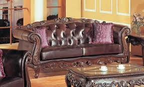 Leather Furniture Living Room French Provincial Bonded Leather Sofa Family Room Pinterest