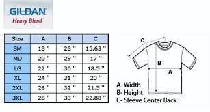 Gildan G200 Size Chart Gildan Mens T Shirt Size Chart Dreamworks