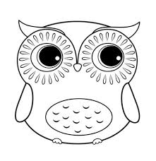 owl coloring pages. Wonderful Coloring Owl Coloring Pages Color Print With W