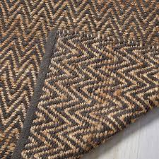 west elm jute chenille herringbone rug natural slate rrp 249