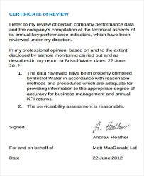 Performance Certificate Sample 47 Certificate Samples Word Ai Psd