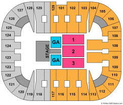 Patriot Center Tickets And Patriot Center Seating Chart