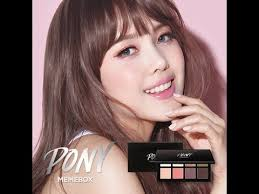 pony makeup makeup tutorial korean style natural look 2016 y lashes look with subs new