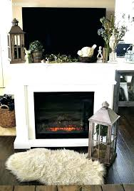 fireplace mantel with on top garden inspired decor dresses up a mantels tv above to hold