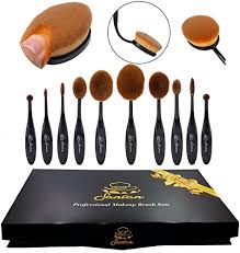 1 sancan professional makeup brush set