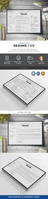 Resume Templates Landscape Resume Template Psd Vector Eps Ai Ms