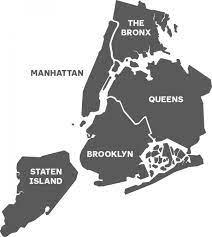סיטי איילנד ניו יורק מפת - העיר ניו-יורק איים המפה (ניו יורק - ארה
